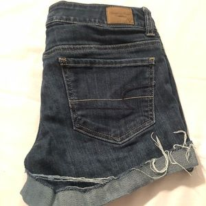 American Eagle Outfitters Shorts - American Eagle Stretch Distressed Jean Short Short